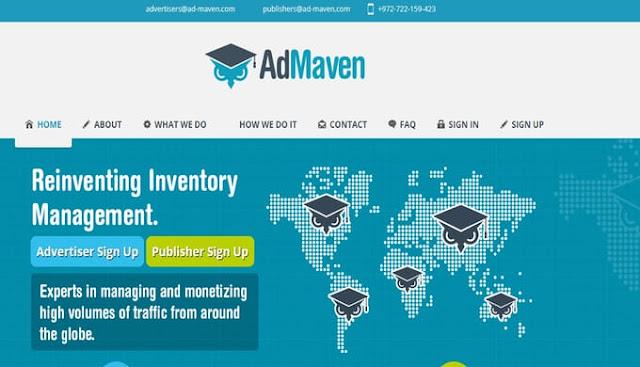 Ad Maven ad network