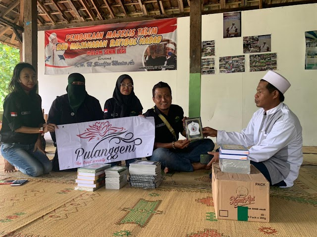 Tingkatkan Amal Ibadah Dengan Penyaluran Bantuan Al-Qur'an Dan Iqro' Ke 6 Masjid Serta Sembako
