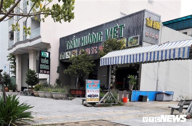 Cận cảnh 'phố người Trung Quốc' cận kề Sân bay Nước Mặn Đà Nẵng 6