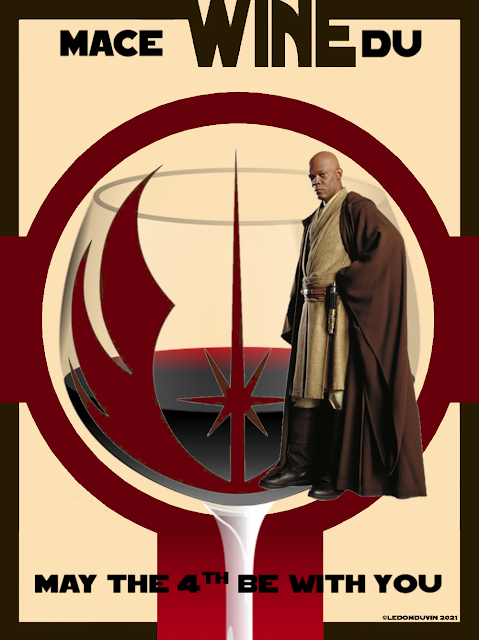 MACE WINEDU MAY THE 4TH BE WITH YOU by ©LeDomduVin 2021