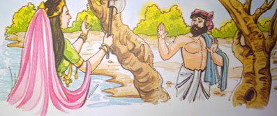 ईमानदार लकड़हारा New Hindi Moral Stories For Class 5th