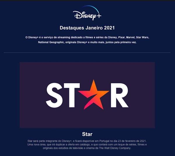 Disney Star com data de inicio confirmada em Portugal