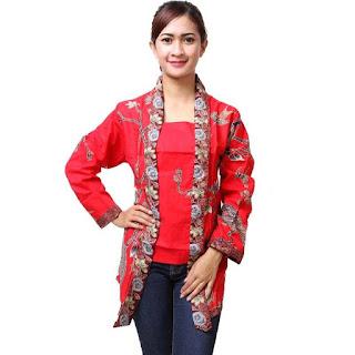 Baju Batik Wanita Remaja Terbaru