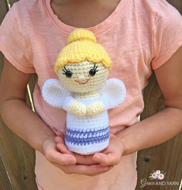 Amigurumi Crochet Angel Pattern | Supergurumi | 625x600