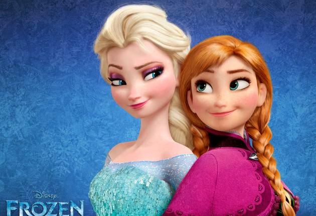 Anna Elsa Frozen animatedfilmreviews.filminspector.com