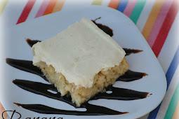 Yummy Banana Cake with Vanilla Bean Frosting #banana #bananacake #cake #vanilla #frosting