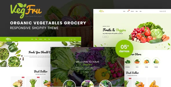 Best Organic Vegetables eCommerce Shopify Theme