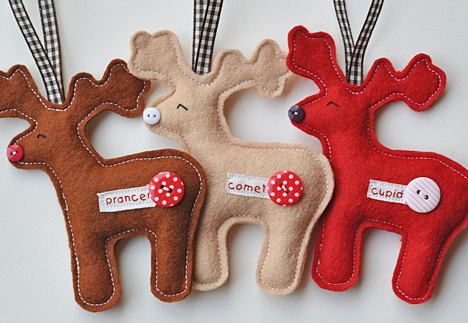 Sew Your Own Reindeer - Free kit & loads of new stock - Sew Sweet