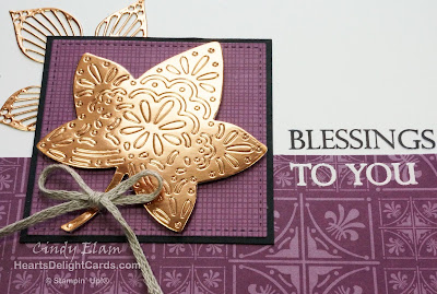 Heart's Delight Cards, Falling for Leaves, Merry Christmas to All, Stampin' Up!