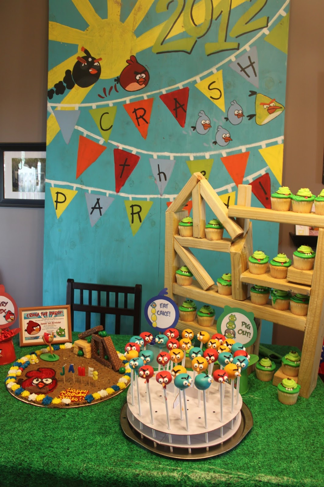 Kidspired Creations Angry Birds Birthday Party