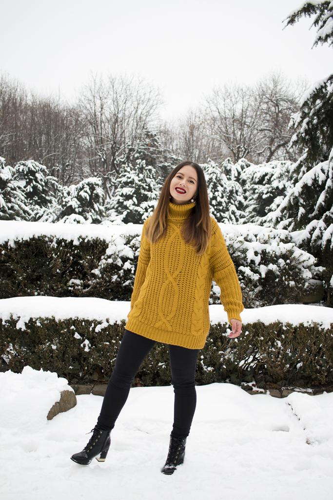 adina nanes how to wear the oversized sweater