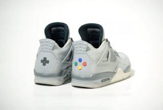 Air Jordan 4s Untuk Para Fans Nintendo