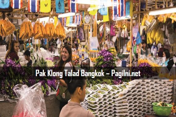 Pak Klong Talad Bangkok