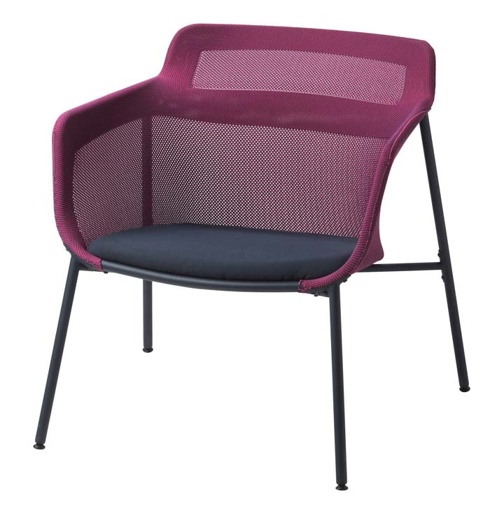 Inspirational The D knitted chair es in burgundy and grey and will be available February See more from the IKEA PS collection in our post here