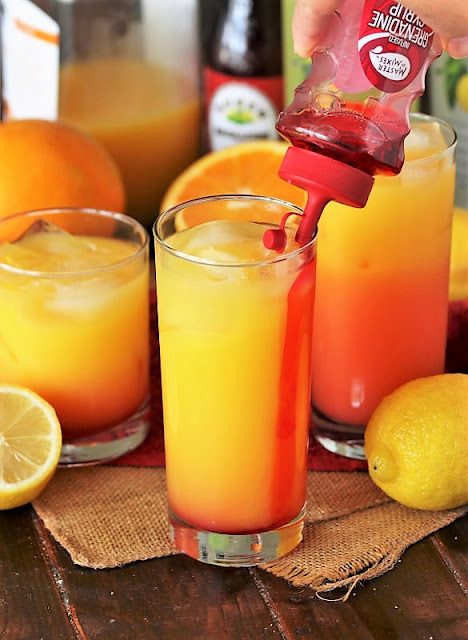 How to Make a Limoncello Sunrise Cocktail Image