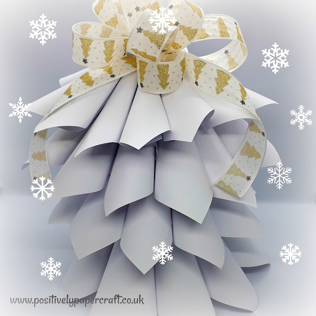 Easy paper Tree Decoration, Christmas crafts,