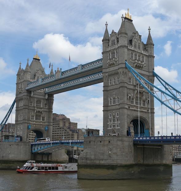 In London Tower Bridge