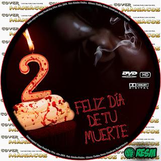 GALLETA - FELIZ DÍA DE TU MUERTE 2 - HAPPY DEATH DAY 2 YOU - 2019