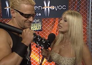 WCW Halloween Havoc 2000 - Pamela Paulshock interviewed Jeff Jarrett