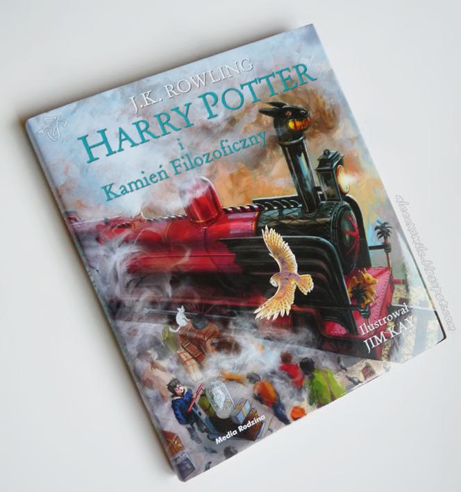 Harry Potter i Kamień Filozoficzny - edycja ilustrowana, obwoluta, recenzja