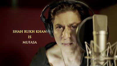 मुफ़ासा के रूप में शाहरुख खान - हिंदी में लॉयन किंग मूवी का टीज़र