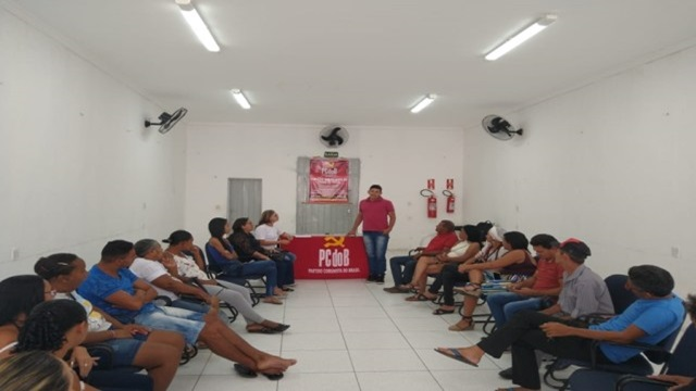 PCdoB de Patos realiza reunião no dia 15 de março