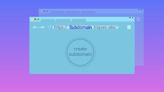 انشاء نطاق فرعي من استضافة name sheap