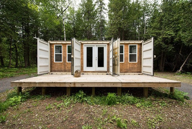 Repurposed Shipping Container Home 355 Sq Ft TINY HOUSE TOWN