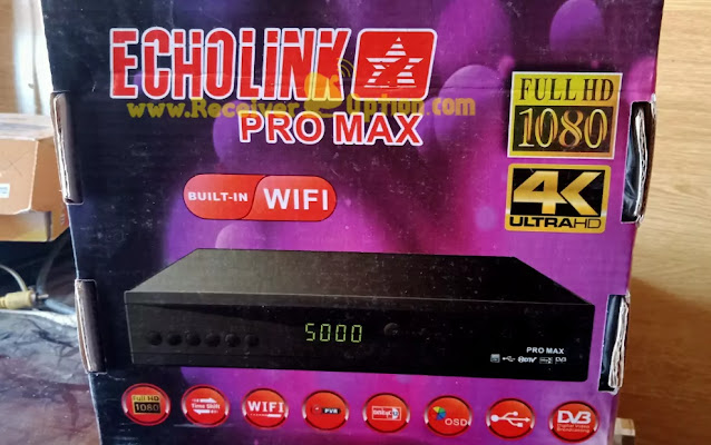 ECHOLINK PRO MAX 1506LV 1G 8M BUILT IN WIFI NEW SOFTWARE WITH ECAST & DOLBY AUDIO OK 29 OCTOBER 2020