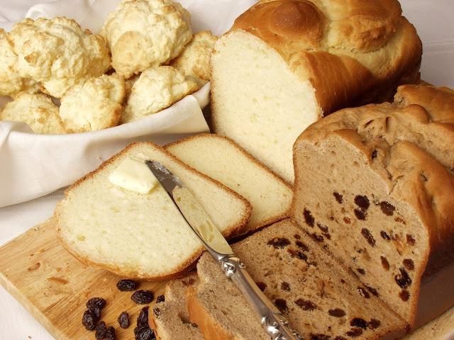 Chleb kokosowo - orzechowy lub kokosowo - rodzynkowy