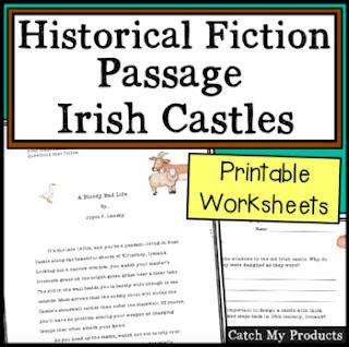 St. Patrick's Day article about Irish Castles on Teacher Pay Teachers. #education #teachersfollowteachers #teacherslife