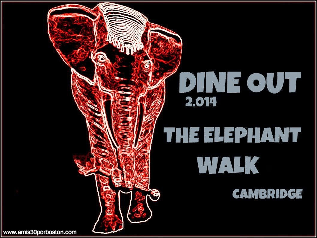 Dine Out Boston Agosto 2014: The Elephant Walk