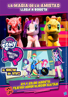 My Little Pony & Equestria Girls en Bogota 2019