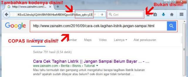 Cara Mengetahui umur artikel melalui LINK URL