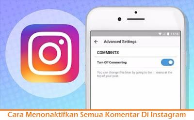 Cara Menonaktifkan Semua Komentar Di Instagram (Termudah.com)