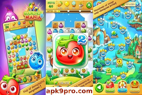 Garden Mania 2 v3.4.7 Apk + Mod(File size 28 MB) for Android