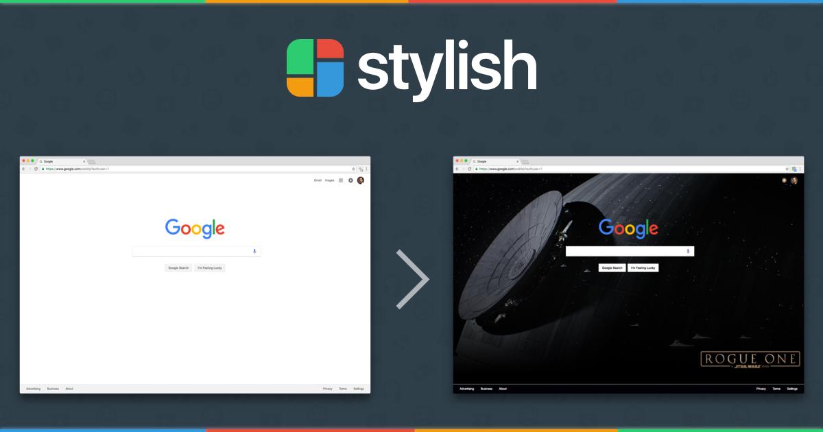 Stylish Extension: Tiện ích giúp thay đổi giao diện website A - Z