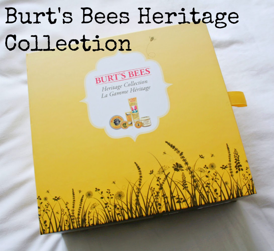 Burt's Bees recently celebrated their 30th birthday with a competition and I was lucky to win one of their Heritage Collections.  The products in the collection were just too good to keep to myself so have a read of my review and get one for yourself - lip balm, hand salve, almond milk beeswax hand creme, peppermint foot lotion, coconut foot creme and best of all, the lemon butter cuticle cream!