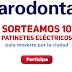 Parodontax regala patinetes eléctricos