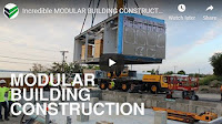 Modular construction video of Boston Police Department project