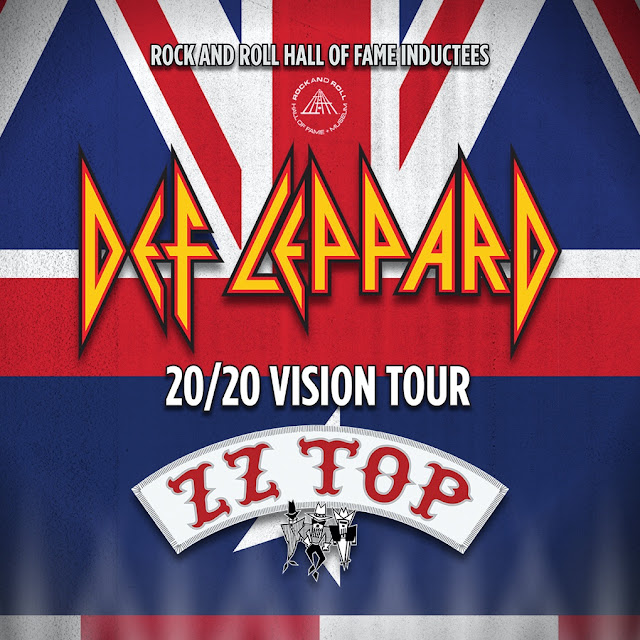 DEF LEPPARD AND ZZ TOP ANNOUNCE SELECT FALL 20/20 VISION TOUR DATES