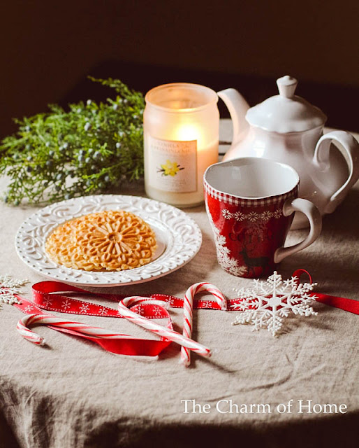 A Festive Tea: The Charm of Home