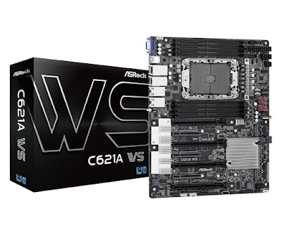 ASRock Unveils C621A WS Motherboard for New Xeon W Processors