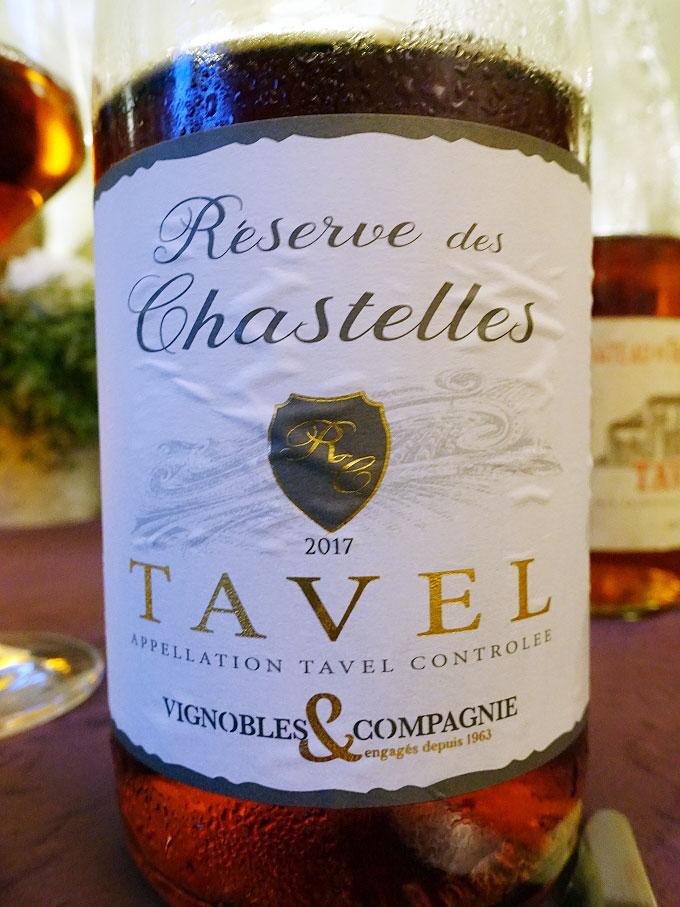 Vignobles & Compagnie Réserve des Chastelles Tavel 2017 (89 pts)