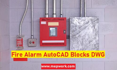 Fire Alarm Autocad Blocks Dwg