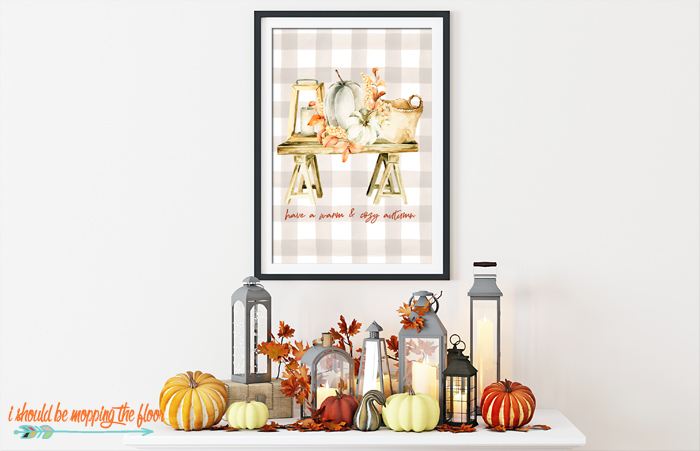 Cozy Autumn Printable Artwork
