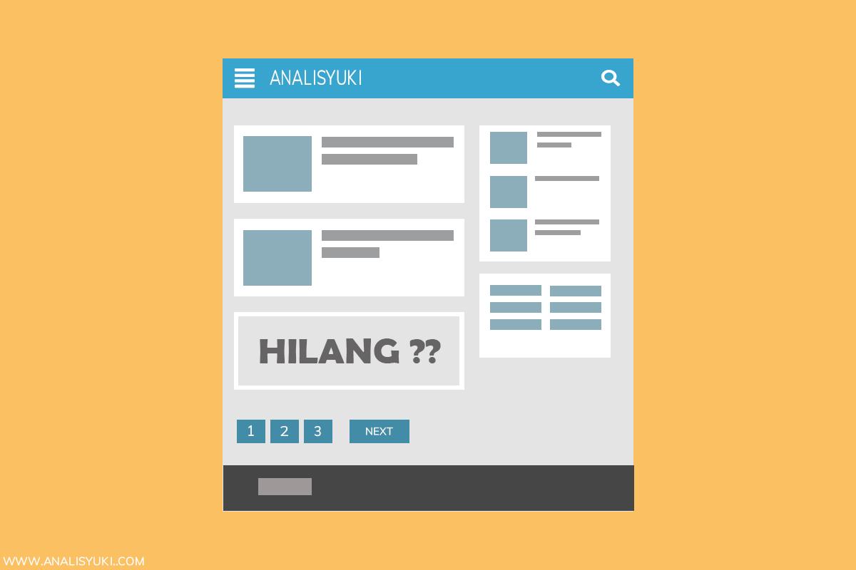 Cara Mengatasi Postingan yang Hanya Tampil Sebagian di Homepage Blogger