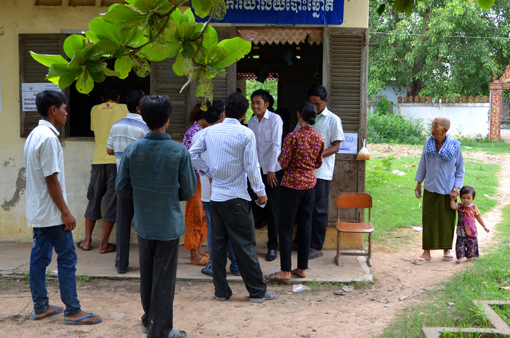 polling stations in india