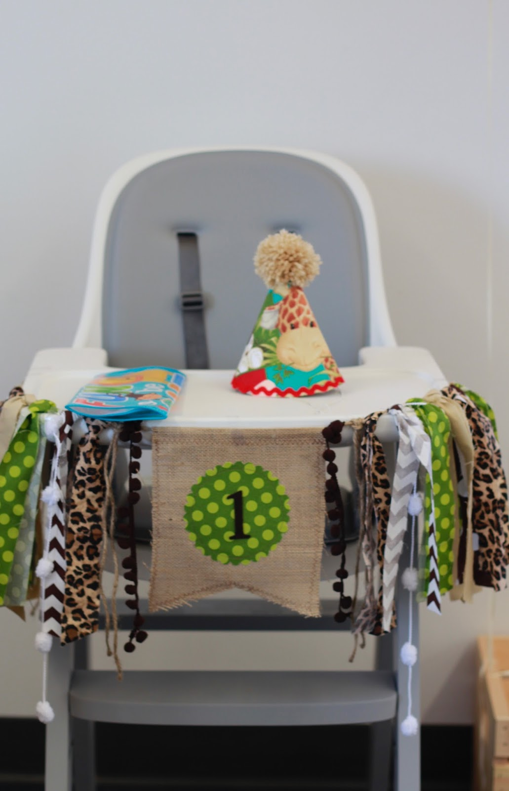 safari high chair rattan bistro table and chairs first birthday sweet september