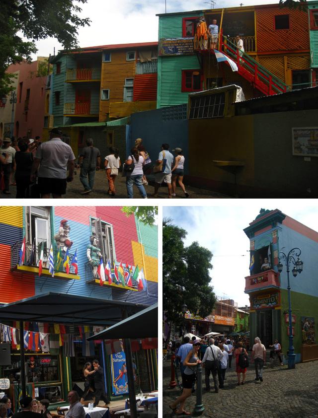 El barrio de La Boca y su calle museo Caminito